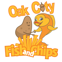 Oak city fish and chips apex peakfest for Oak city fish and chips menu